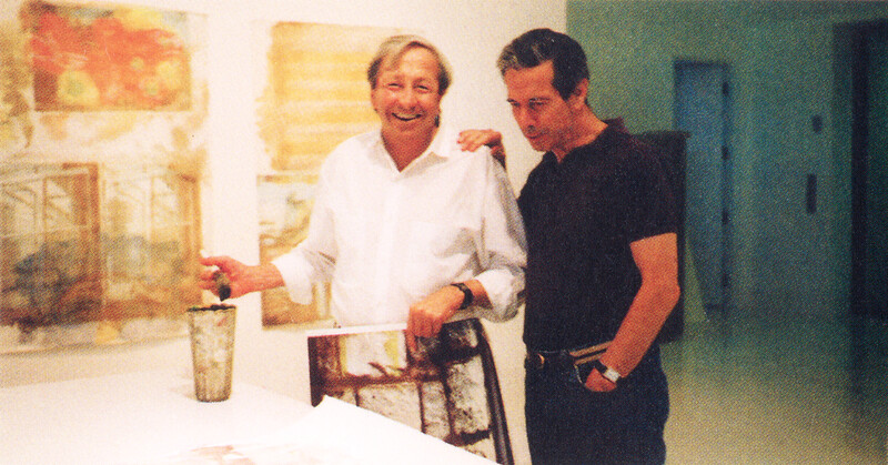 Tomkins with Rauschenberg