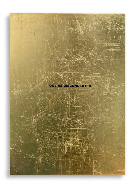 Artwork related to exhibition: Stefan Brüggemann  UNTITLED ACTION (GOLD PAINTINGS)