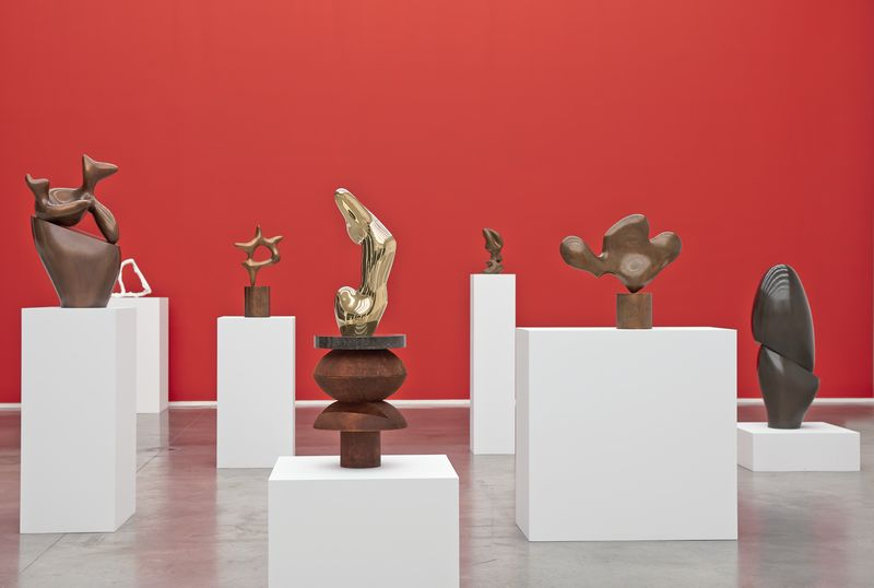 Artwork related to exhibition: Hans Arp Chance – Form – Language (and a FRANZWESTigation)