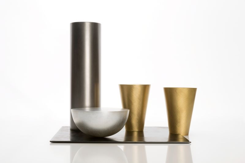 Juliette Bigley Bowl with Vessels, Mixed Metals, 320x300x300, 2018, photo Nicola Tree, high res 2