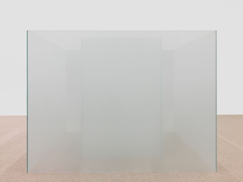 Artwork related to exhibition: Larry Bell Venice Fog: Recent Investigations