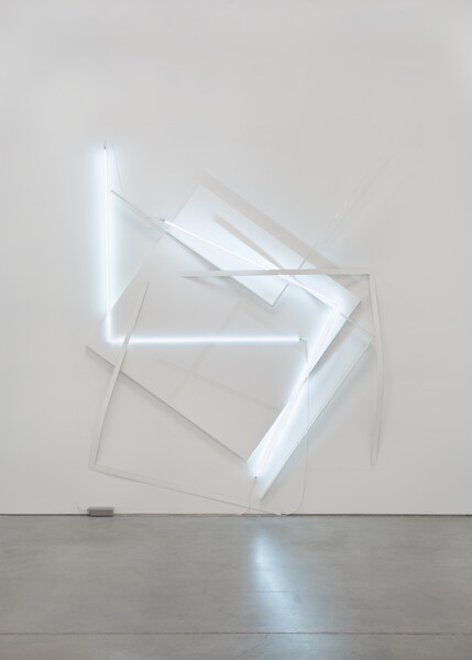 Artwork related to exhibition: François Morellet  In-Coherent