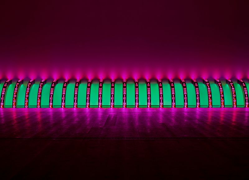 Artwork related to exhibition: Jenny Holzer  Softer Targets