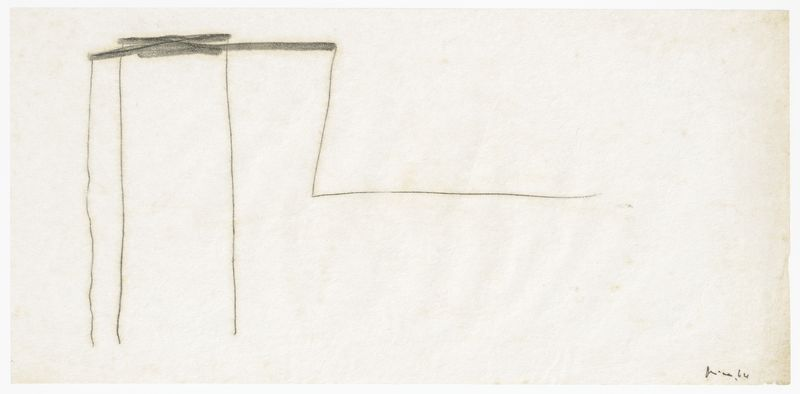 Artwork related to exhibition: Mira Schendel Monotypes