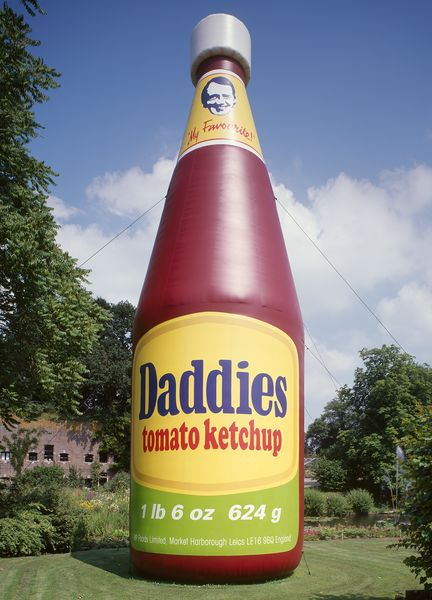 McCAR37905, Daddies Tomato Ketchup Inflatable