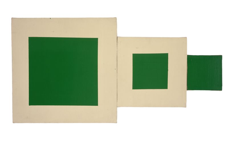 Artwork related to exhibition: Mary Heilmann
