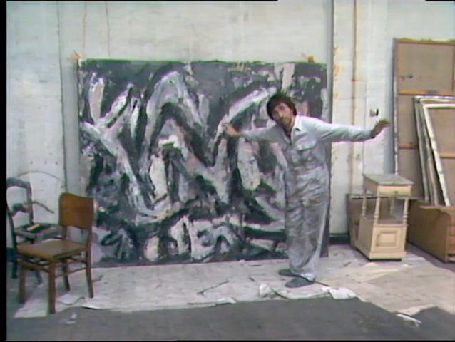 Philippe Vandenberg studio 1985