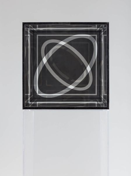 "Larry Bell, Untitled (Cube 12""), 1964. © Larry Bell. Courtesy Hall Collection. Photo- Sylvia Ros"