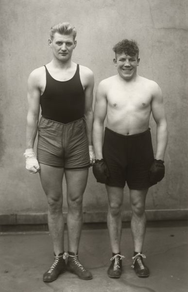 Artwork related to exhibition: August Sander  Men Without Masks