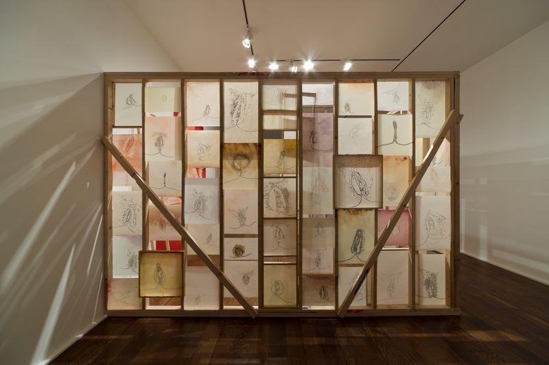 Artwork related to exhibition: Ida Applebroog  MONALISA