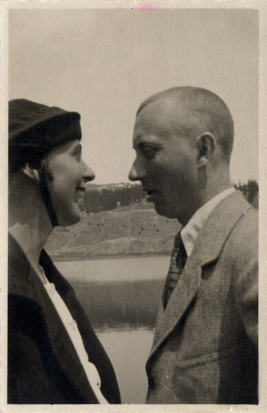 Hans Arp and Sophie Taeuber-Arp, Arosa, 1918 1