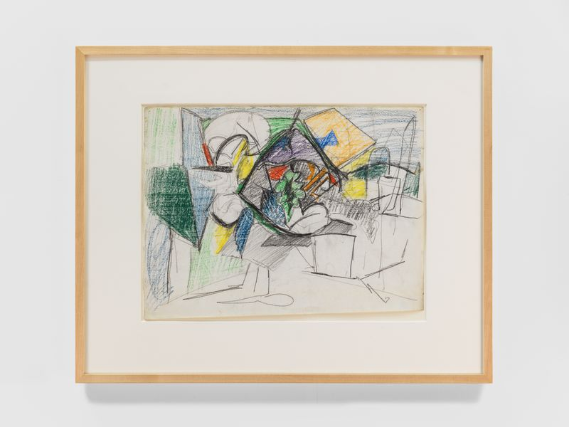 Artwork related to exhibition: Ardent Nature: Arshile Gorky Landscapes, 1943–47