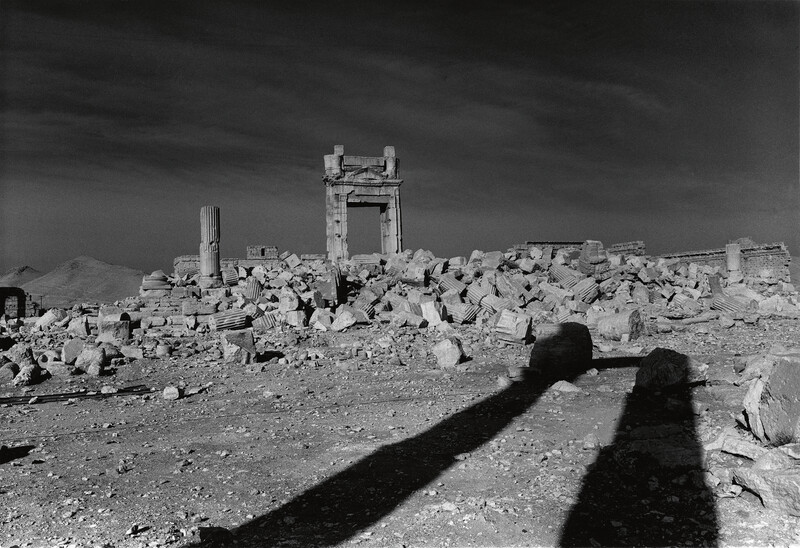 Temple of Bel 1-bw