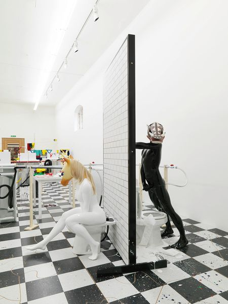 Artwork related to exhibition: Richard Jackson  The Laundry Room