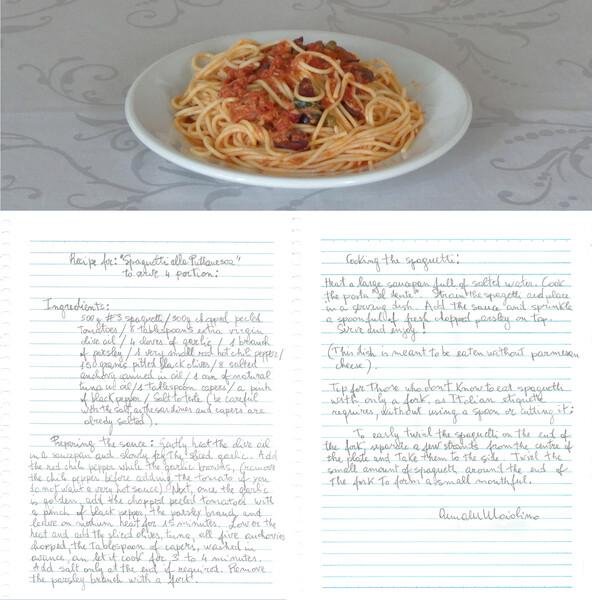2. Artist Recipe - Spaguetti alla Putanesca - pg2