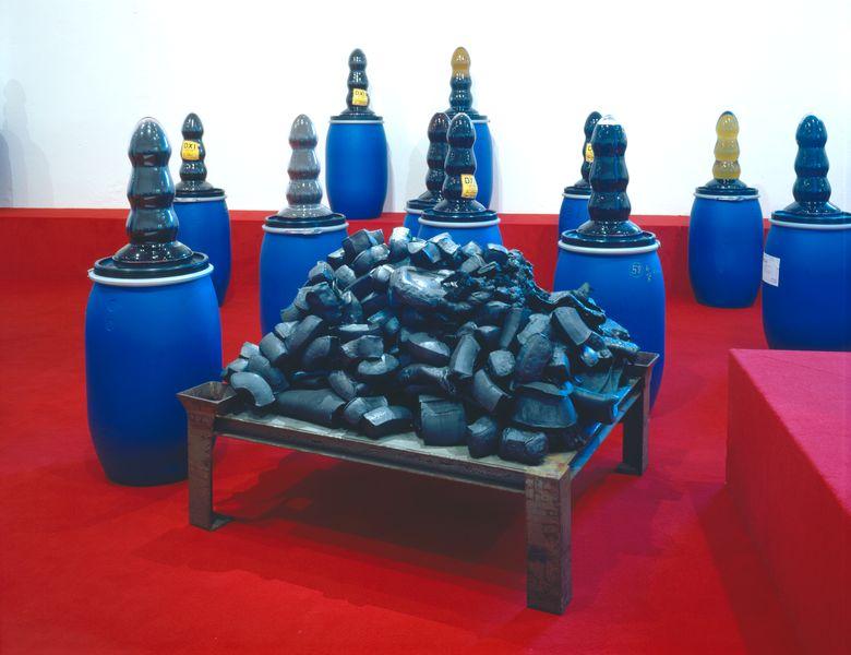 Artwork related to exhibition: Paul McCarthy, Jason Rhoades  Shit Plug