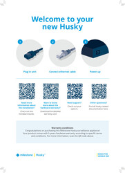Husky IVO Quick Start Guide (1-pager)