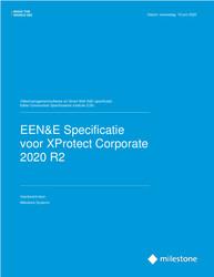 XProtect Corporate CSI A&E Specification Sheet