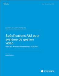 XProtect Professional+ Open CSI A&E Specification Sheet