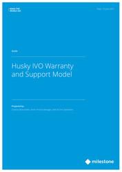 Husky IVO - Warranty & Support Model Guide