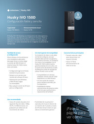 Husky IVO (all models) - Specification sheets