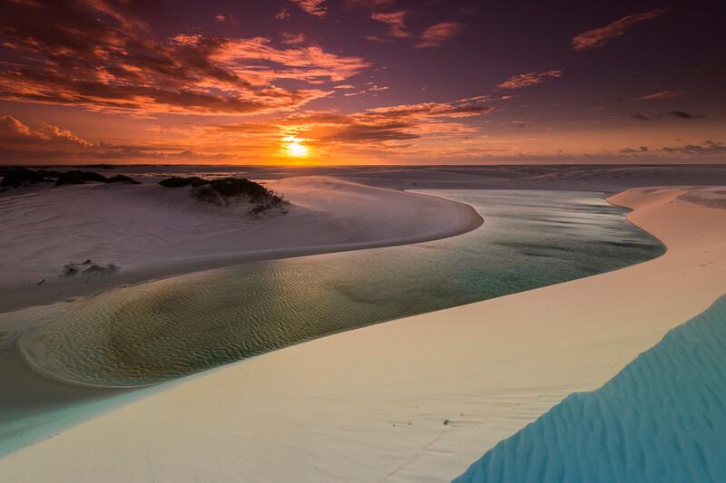 5-Lencois sunset