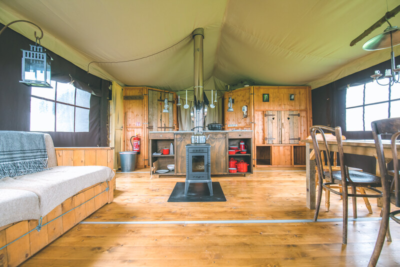Feather Down Glamping
